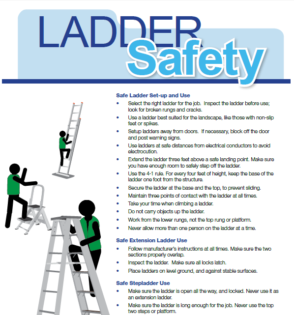 Ladder Safety Information Sheet